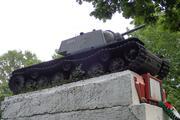 Танк КВ-1 изнутри (№ 9854), Ропша, Ленобласть. P6230363