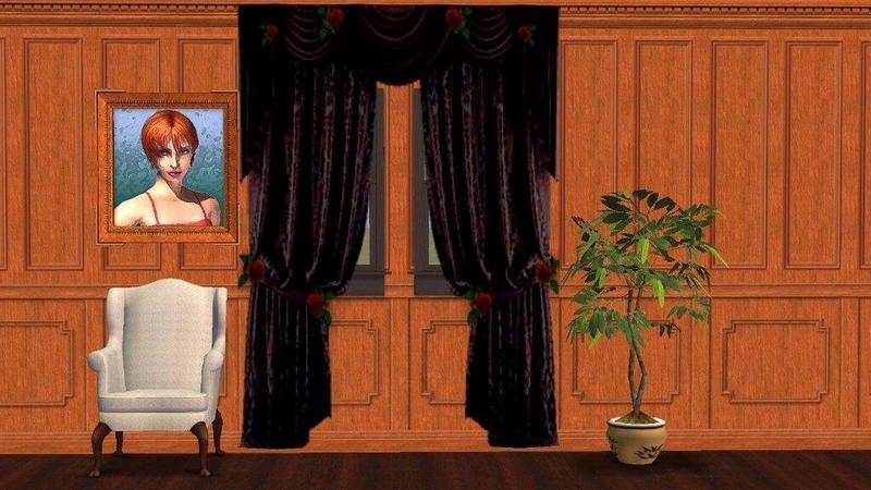 SimFansUK Update - August 2017 Gothic-curtains