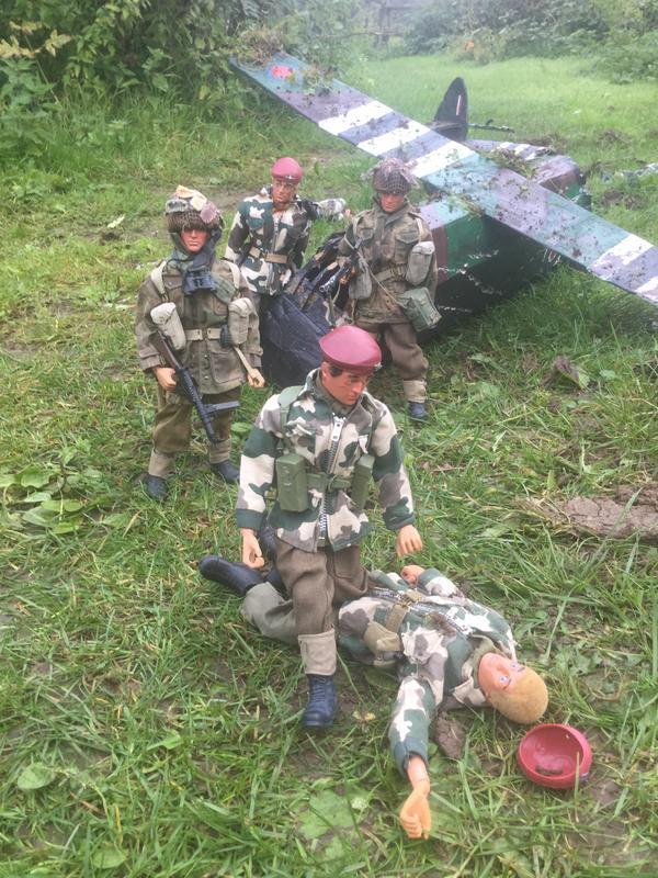 Crash landing..!!!   Operation market garden. Episode 1 IMG_5768