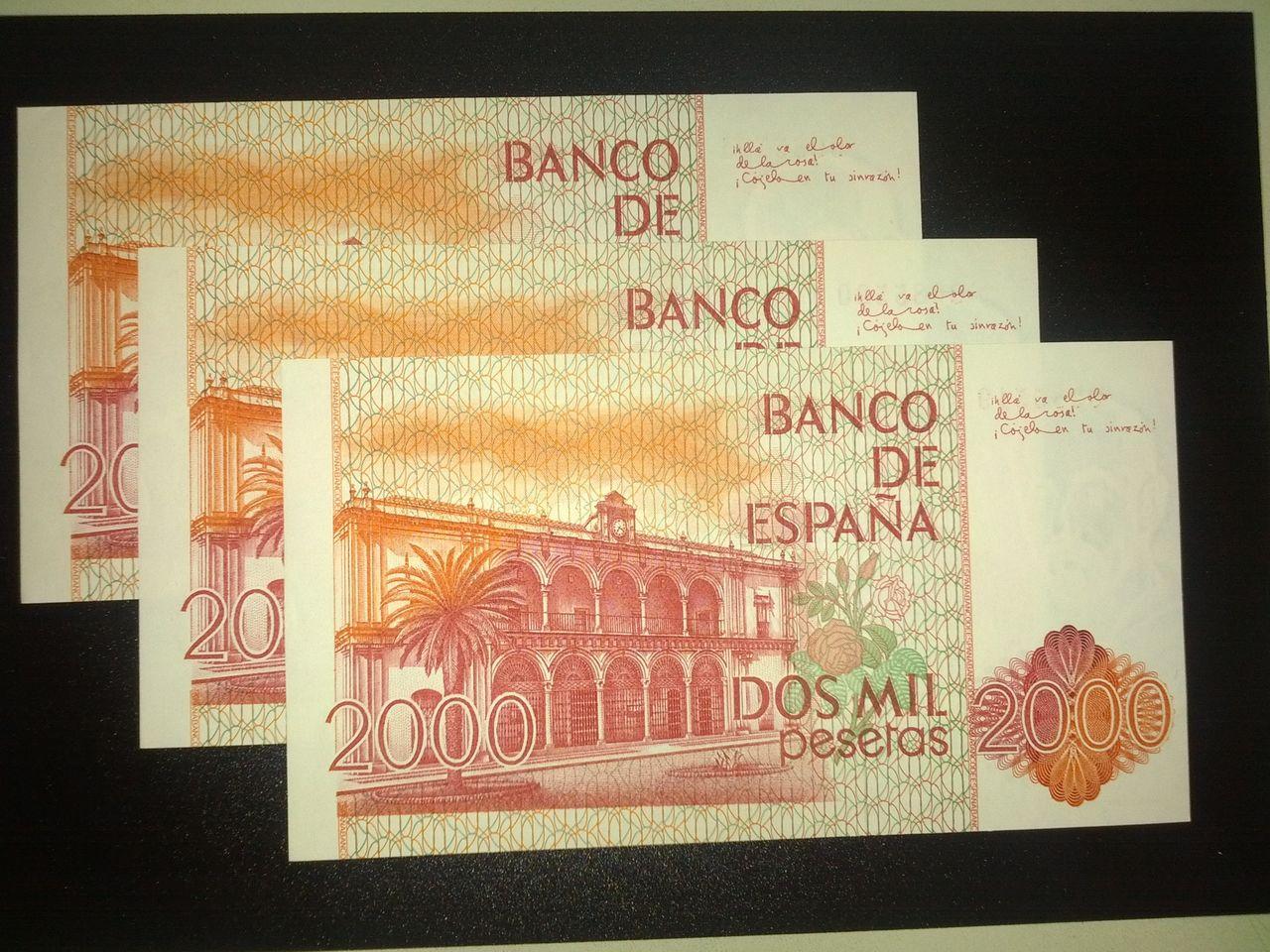 """2000 Pesetas 1980 (Numero """"bajito"""" - Trio) 2000_pesetas_1980_r"""