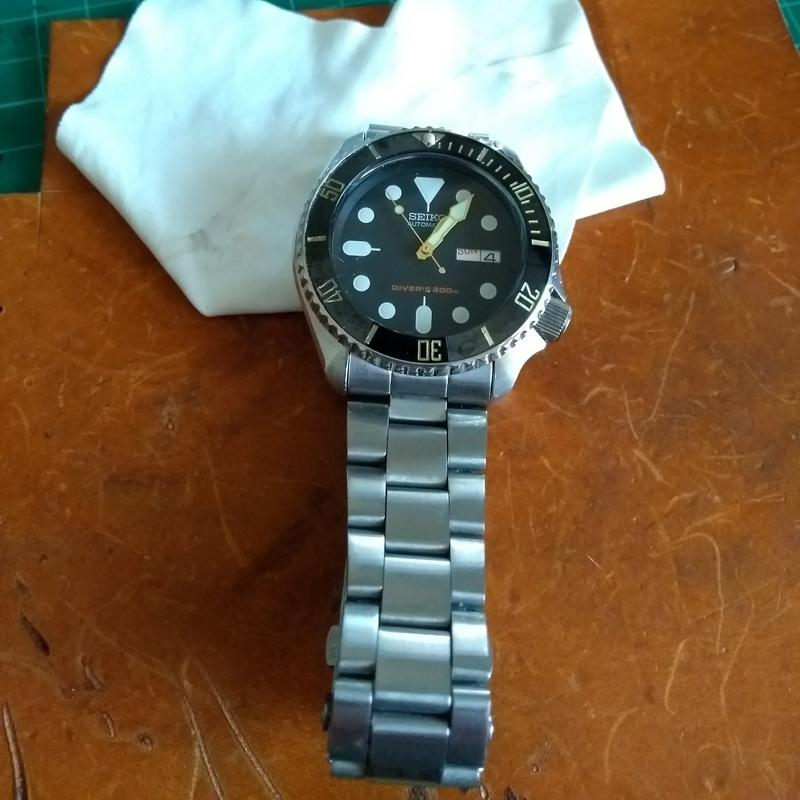 New dial and chapter ring for SKX007 (photo heavy) IMG_20180611_183714940