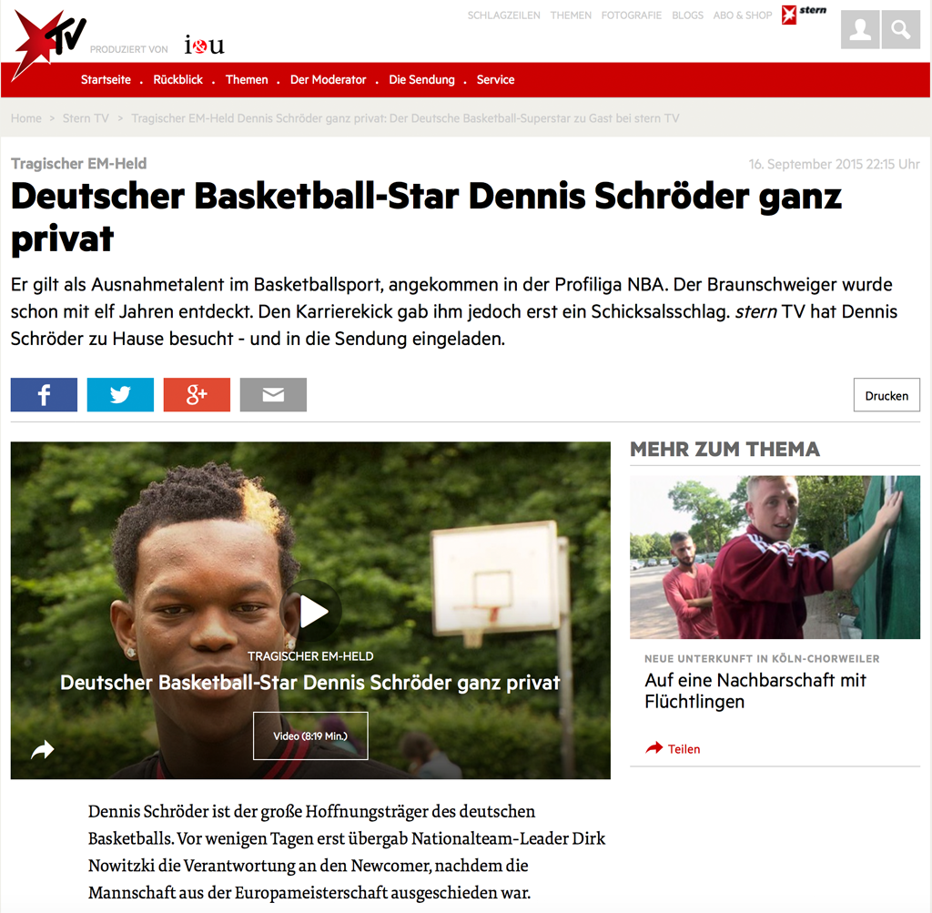 Presseschau Basketball