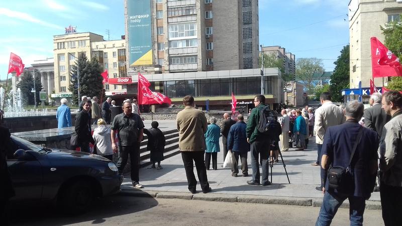 Lviv -  Ukraine crisis. News in brief. Monday 02 May [Ukrainian sources]  20160501_104255