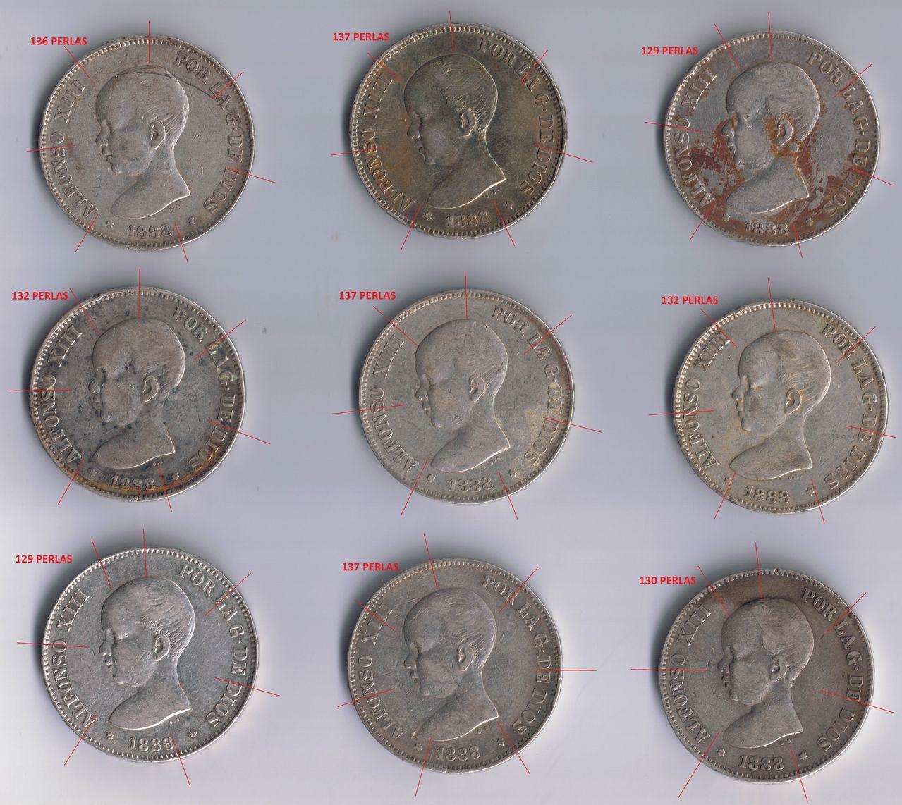 5 pesetas 1888 Alfonso XIII - Página 4 Duros_1888_anverso_2