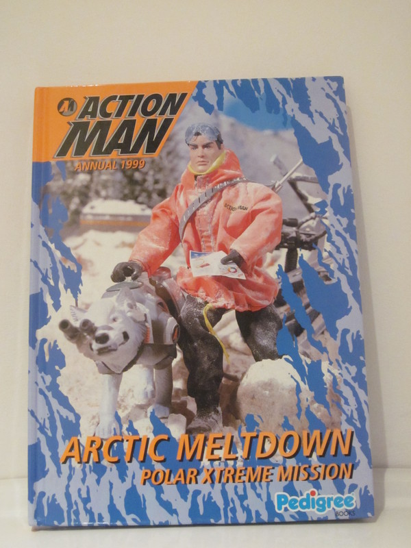 Action Man annuals and books IMG_3925
