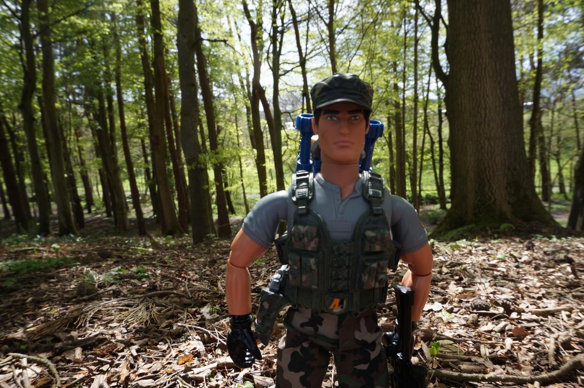 My Action Man Mortar Combat Mission Raid Random Woodland Photos DSC00686