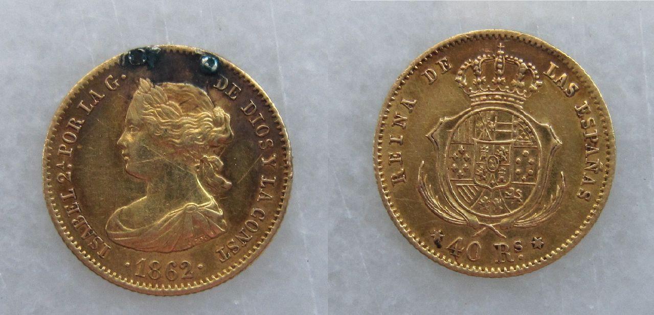 40 reales 1862. Madrid. Isabel II (colgante) 40_reales_Isabel_2_1862