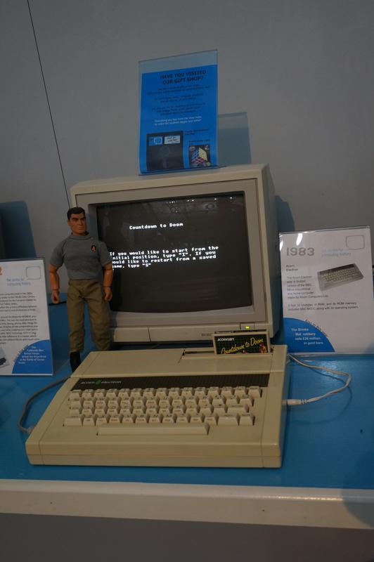 My MAM visiting  Cambridge Computer History Museum. 7_DA3897_B-0_D69-4_D66-_A888-_C8_A90_EF18_A0_C