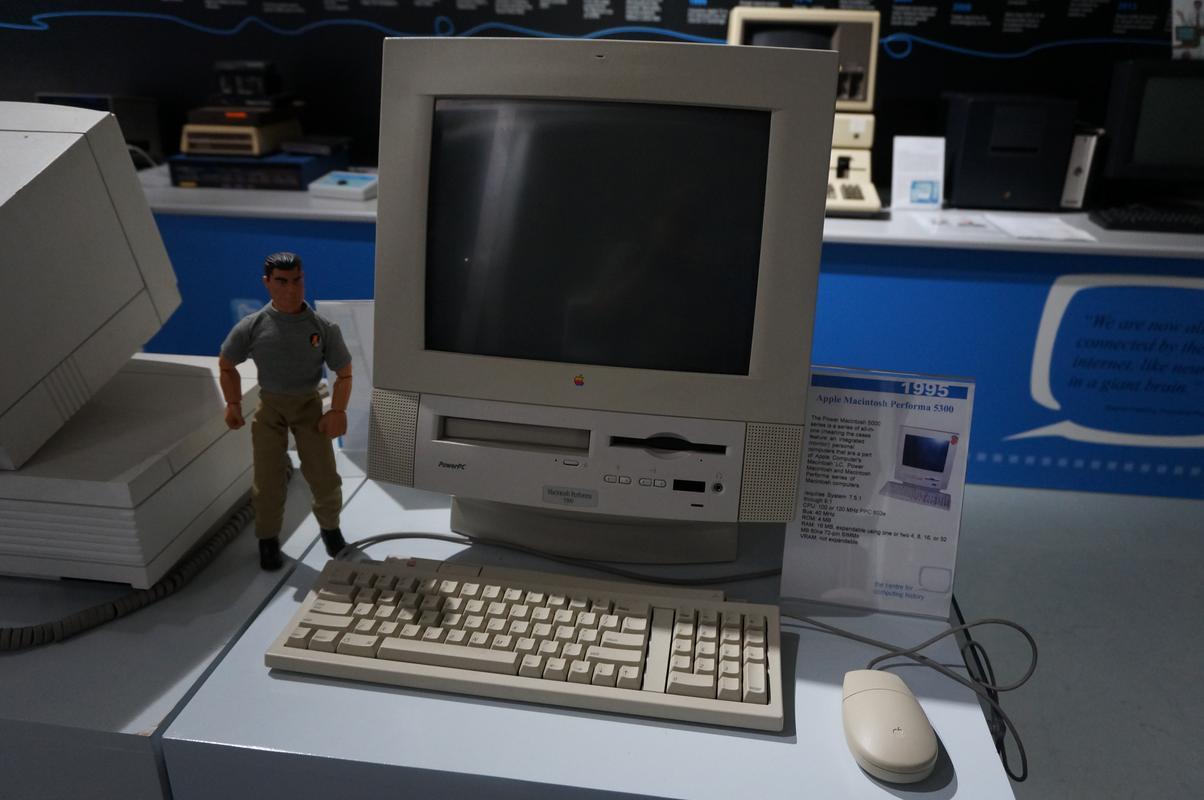 My MAM visiting  Cambridge Computer History Museum. A6_B40_EBE-5_EC7-4_F79-_BA53-3_F5733375_FE7