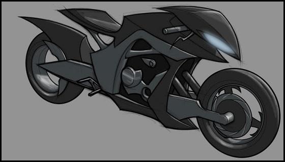 Ficha de Batman Batcycle