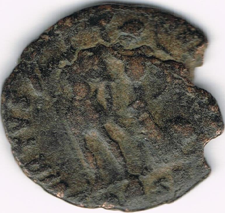 AE3 tipo VIRTVS EXERCITI Victoria coronando al Emperador IR30b