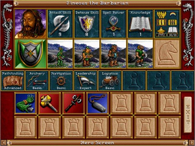 Heroes 2 Museum (beta content, concept art, promo screenshots) Homm2_hero