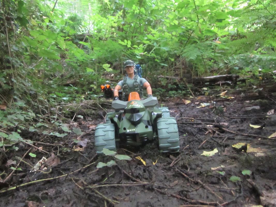 Action Man Quad Assault Woodland Random Photos. IMG_4339