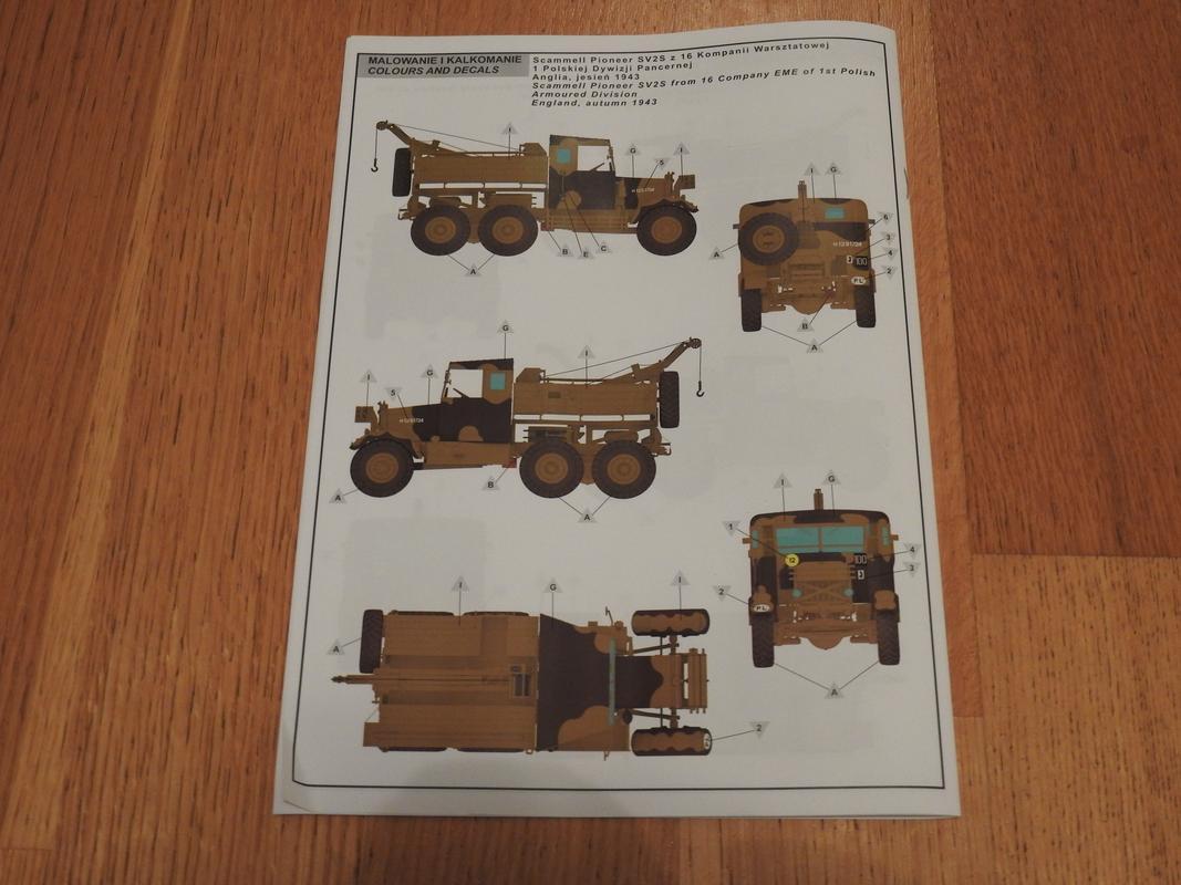 Scamell Pioneer SV2S Heavy Breakdown Tractor, IBG 1/35 DSCN5995