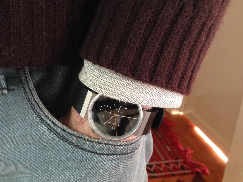 [Vendo] Relógio Jacob Jensen Chronograph 600 Titanio - Quase Novo 3_IMG_5987