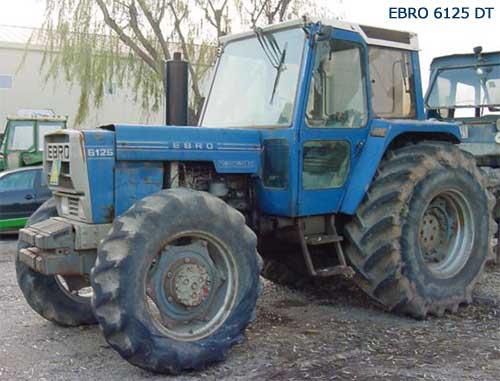 Tractores a los que tengáis cariño Ebro6125dt