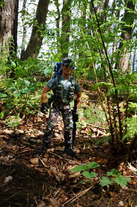 My Action Man Mortar Combat Mission Raid Random Woodland Photos DSC00685