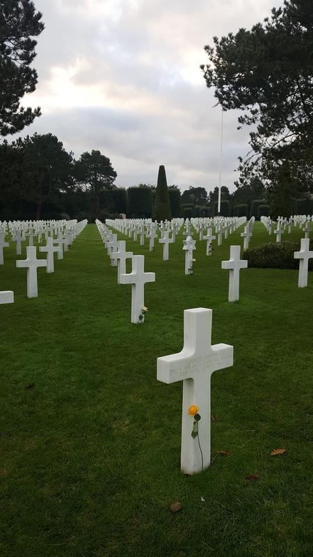 Normandy d day battlefield trip 20171028_093132