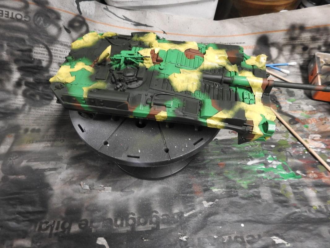 Strv 103C, Trumpeter 1/35 - Sida 2 DSCN1834