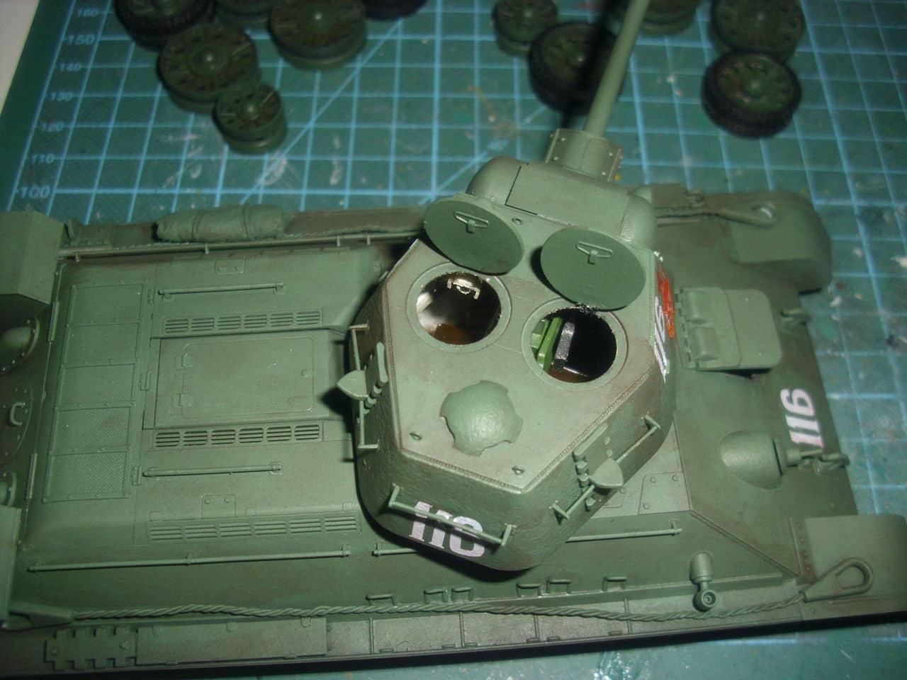 T-34/76 1943 early model. ICM 1/35 - Sida 4 DSCI0741