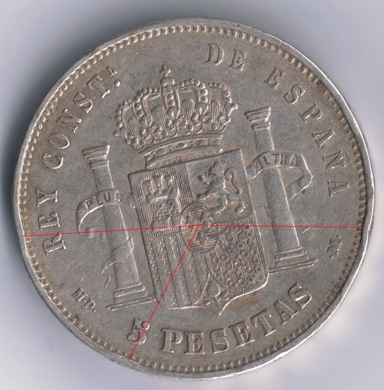 5 pesetas 1888 Alfonso XIII - Página 4 1888_36_perlas_rev