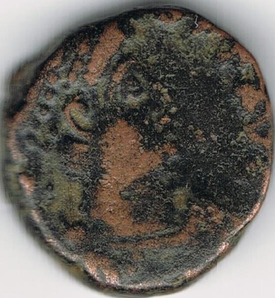 AE4 tipo VIRTVS EXERCITI. Emperador coronado por Victoria. IR43