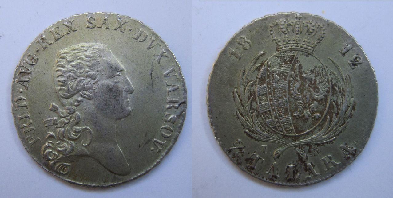 1/3 talara 1812. Varsovia. Federico Augusto I 1_3_talara_1812_Polonia