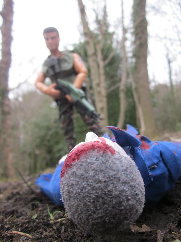 One Zombie Slayer vs one Zombie. (Ackie88) IMG_2328