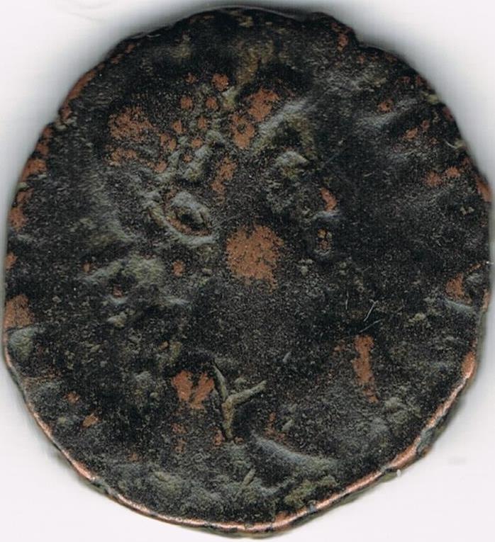 AE3 bajo imperio tipo VIRTVS EXERCITI. Antioquía. 22a