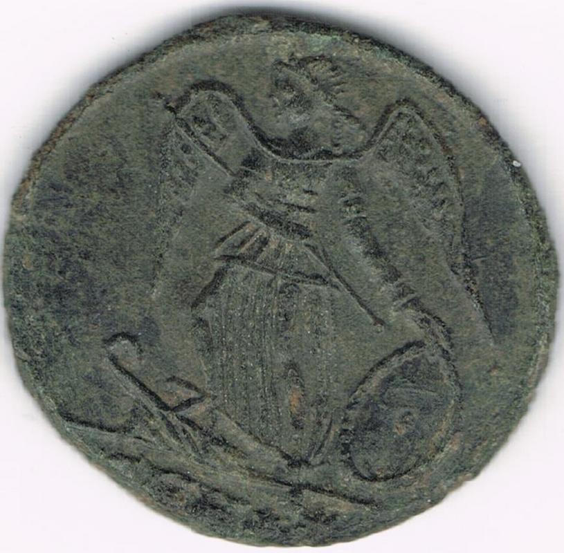 AE3 conmemorativo de Constantinopla. Heraclea IR112_BB