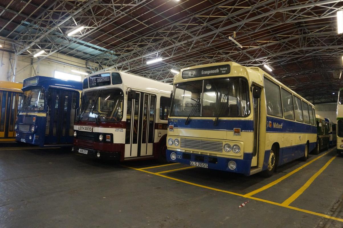 MAM visiting The Scottish Vintage Bus Museum. B9_C21_E1_B-475_E-4_CED-82_F5-_E23_D92452442