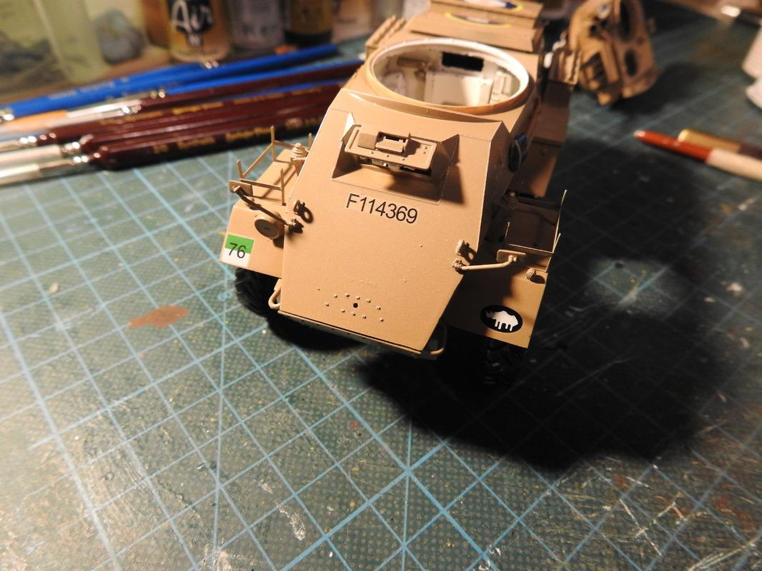 Humber Mark II, Bronco 1/35 - Sida 8 DSCN3403