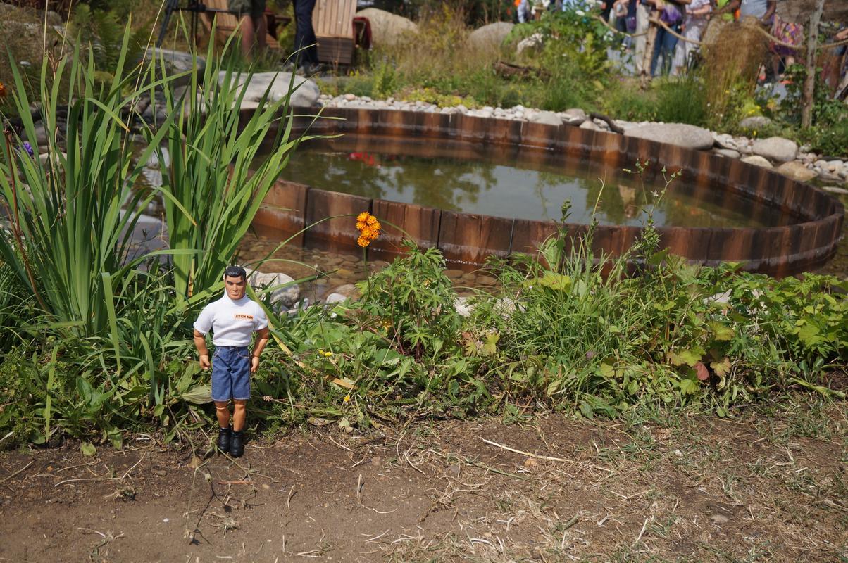 My Mam visiting Hampton Court flower show.  99_D73_EEC-1427-45_F1-81_CE-_B72676_DFEA67