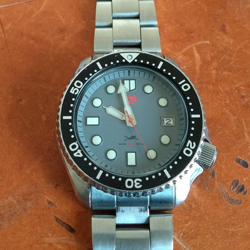 New dial and chapter ring for SKX007 (photo heavy) IMG_20180612_100258583