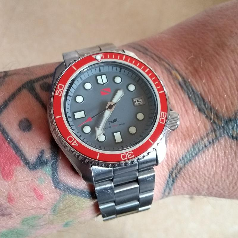New dial and chapter ring for SKX007 (photo heavy) IMG_20180619_132027394