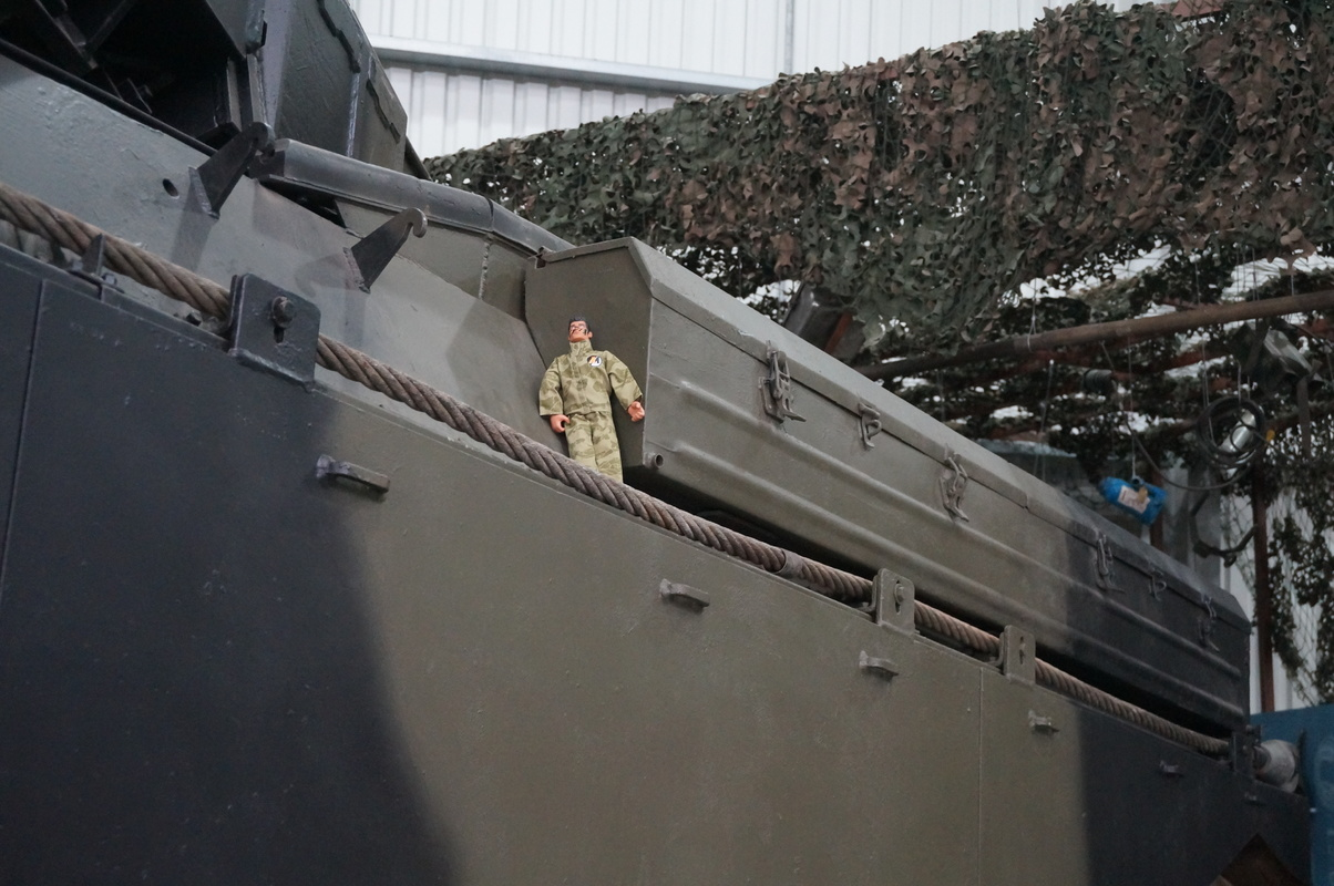 Action Man at Bovington Tank Museum 2016 photos. DSC01220