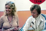 Tyrell p34 Barbro_peterson_ronnie_peterson_germany_1970