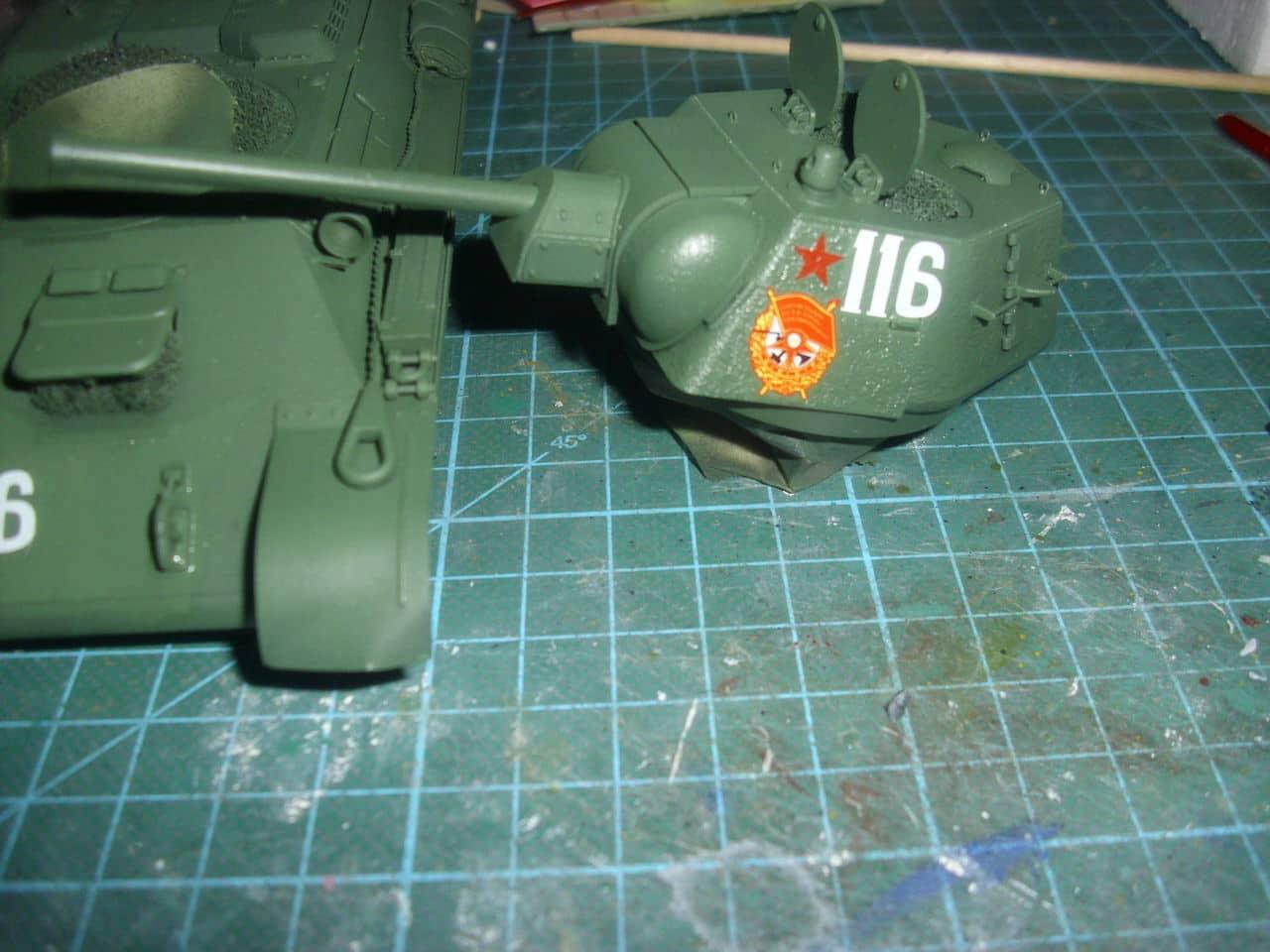 T-34/76 1943 early model. ICM 1/35 - Sida 4 DSCI0719
