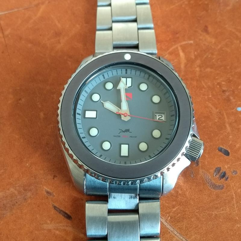 New dial and chapter ring for SKX007 (photo heavy) IMG_20180612_100349275
