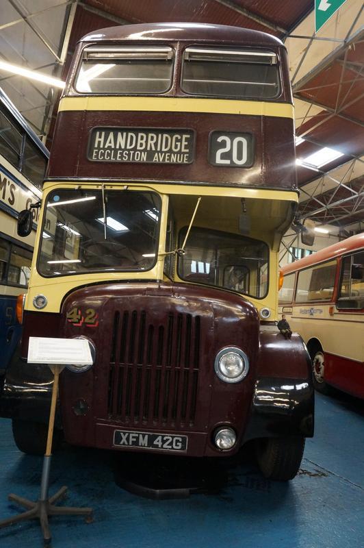 MAM visiting The Scottish Vintage Bus Museum. ACEB93_E6-_E58_E-472_F-_A99_E-82611_EF9_F34_A