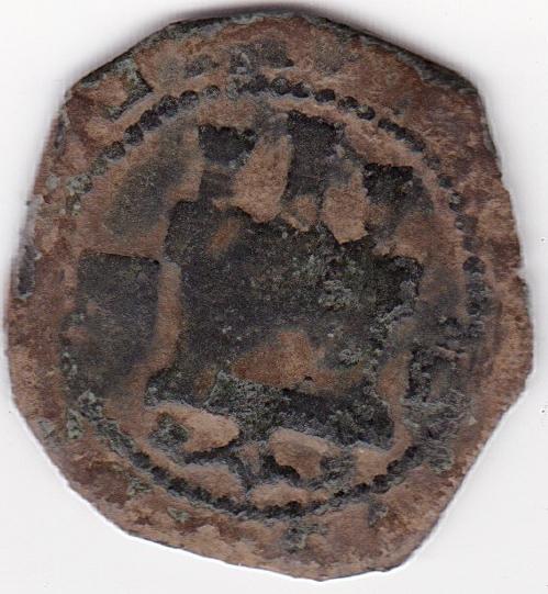 2 Maravedies de Felipe II, Segovia ES15_B