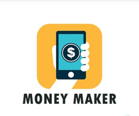 OPORTUNIDADE [Provado] Money Maker Cash App - Ganha Instalando Apps, Vendo Vídeos e Check-in Diário - RECEBIDOS $ 32,00 + € 2,00 MMAKERlogo