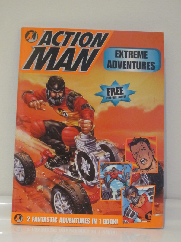 Action Man annuals and books IMG_3968