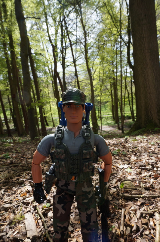 My Action Man Mortar Combat Mission Raid Random Woodland Photos DSC00687