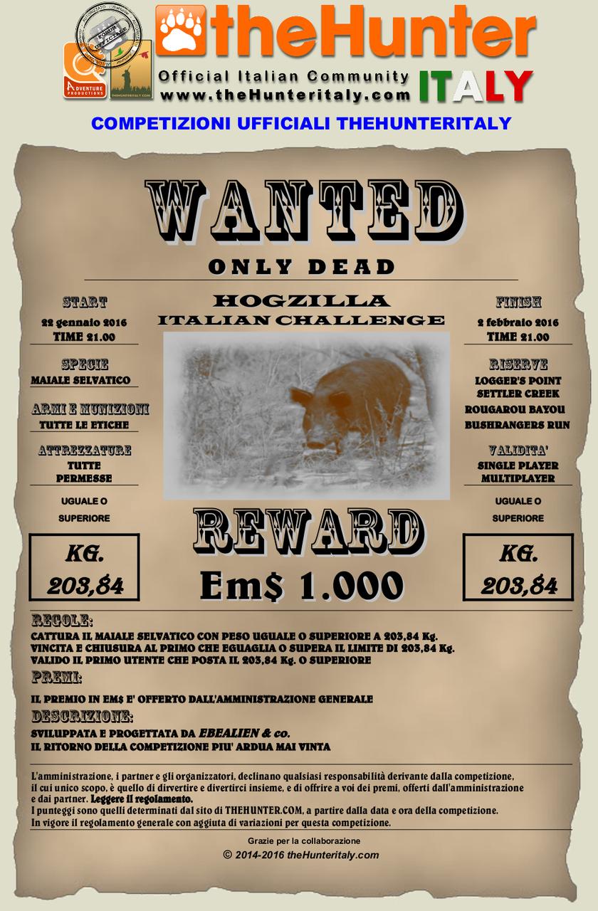 [TERMINATA hogzilla superato] - Competizione theHunteritaly Wanted: Hogzilla Italian Challenge 7° edizione Wanted_feral_hog_20384_22_1_16