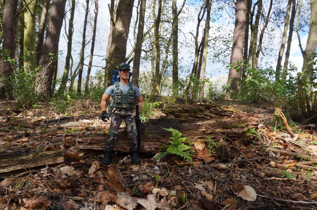 My Action Man Mortar Combat Mission Raid Random Woodland Photos DSC00683
