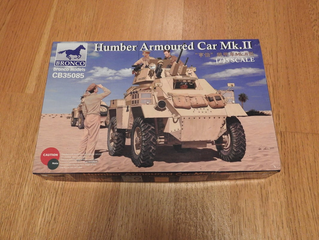 Humber Mark II, Bronco 1/35 DSCN2108