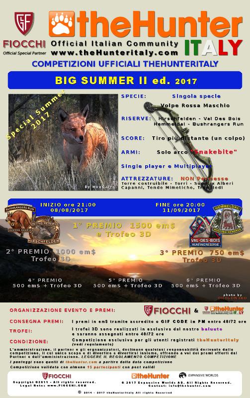 [CONCLUSA] Competizioni ufficiali TheHunteritaly - Big Summer II ed. 2017 - Volpe Rossa - BIG_SUMMER_II_VOLPE_ROSSA_valida