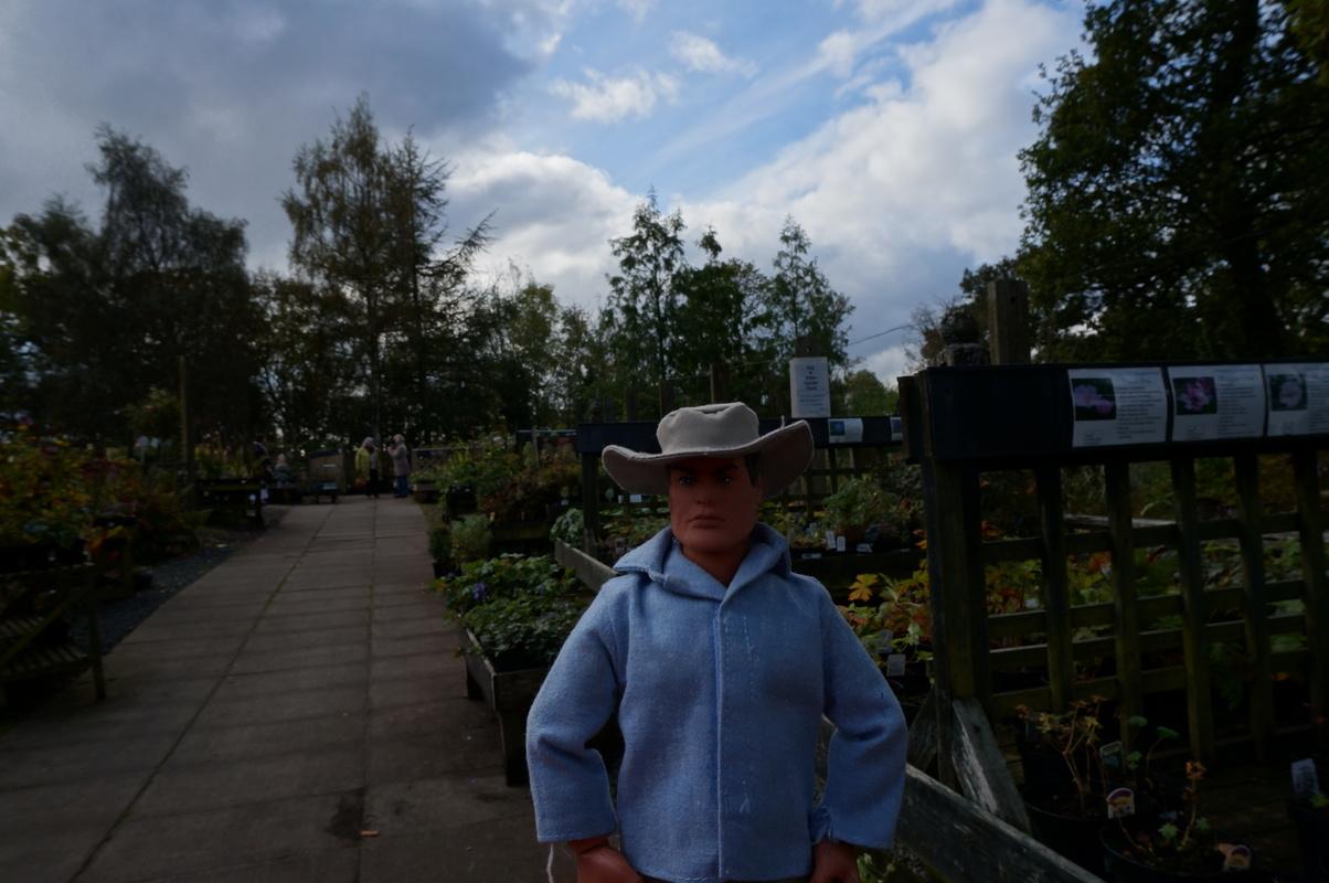 Random Action Man Photos at Hopton garden center. DSC00595