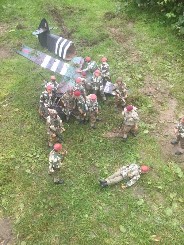 Crash landing..!!!   Operation market garden. Episode 1 IMG_5784
